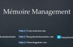 Mémoire management